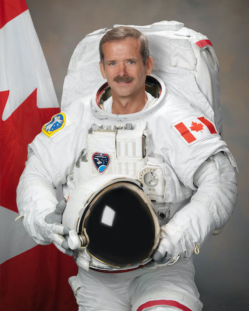 Chris Hadfield's NASA Portrait